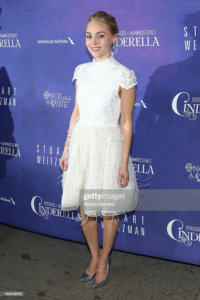 Actress AnnaSophia Robb attends the 'Cinderella' Broadway Opening Night at Broadway Theatre on March 3, 2013 in New York City.