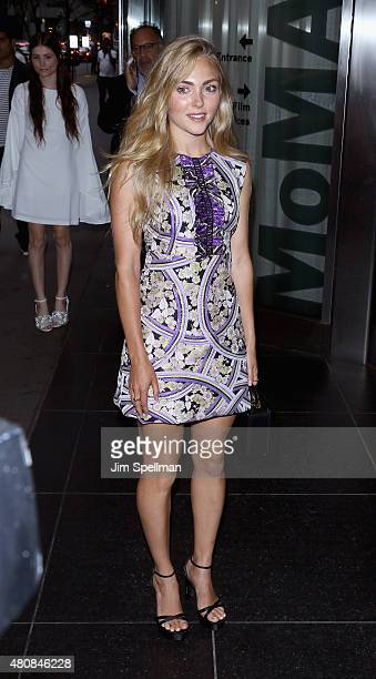 Actress AnnaSophia Robb attends The Cinema Society with FIJI Water Metropolitan Capital Bank host a screening of Sony Pictures Classics' 'Irrational...