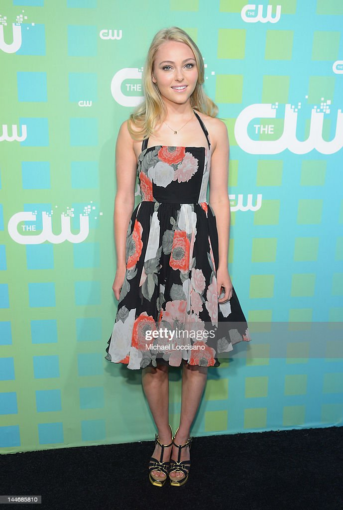 Actress AnnaSophia Robb attends The CW Network's New York 2012 Upfront at New York City Center on May 17, 2012 in New York City.