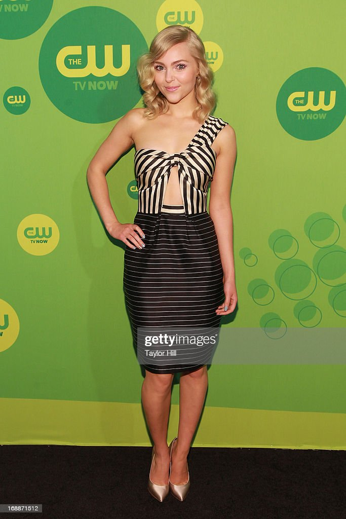 Actress AnnaSophia Robb attends The CW Network's New York 2013 Upfront Presentation at The London Hotel on May 16, 2013 in New York City.
