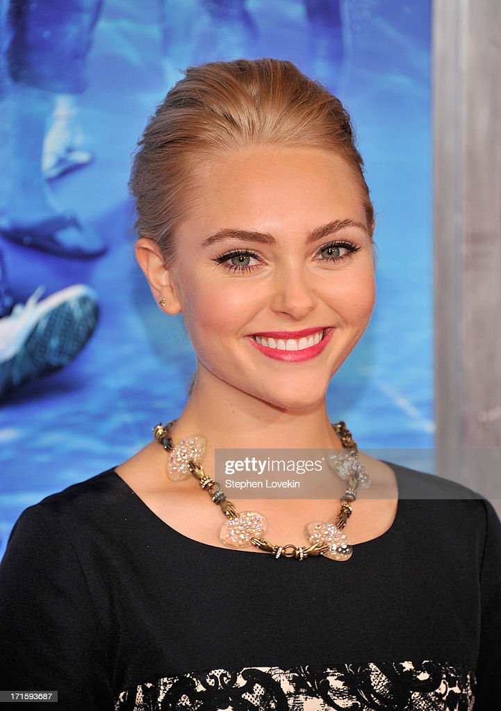 Actress AnnaSophia Robb attends 'The Way, Way Back ' New York Premiere at AMC Loews Lincoln Square on June 26, 2013 in New York City.