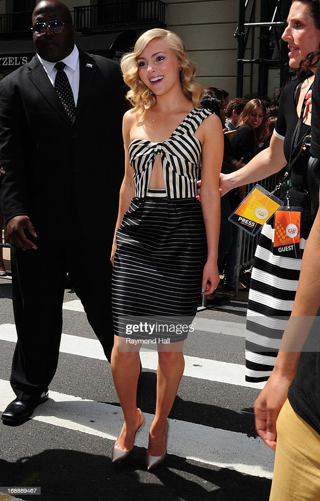 Actress AnnaSophia Robb is seen outside 'the London Hotel'on May 16, 2013 in New York City.