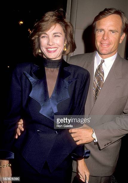 Actress Anne Archer and husband Terry Jastrow attend the People for the American Way's 'Spirit of Liberty' Awards Dinner Honoring Kathleen Turner and...