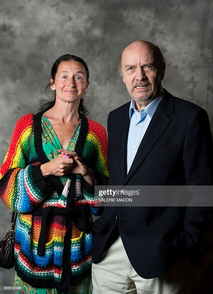 Actress Anne Broche (L) and director Jean-Paul Rappeneau attend the 20th annual COLCOA French Film Festival at the Director Guild of America, in West Hollywood, California, on April 21, 2016. / AFP / VALERIE