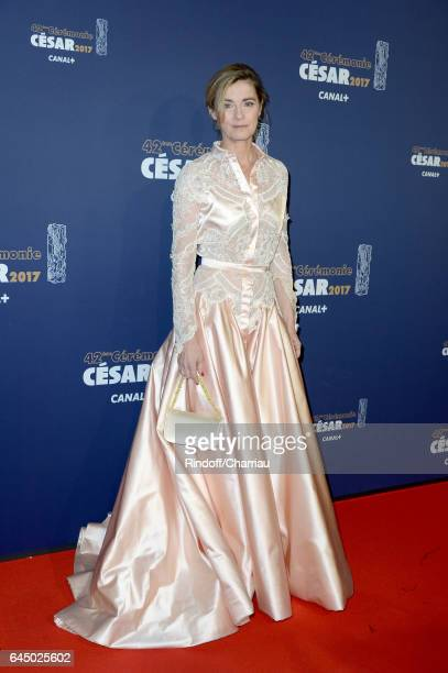 Actress Anne Consigny arrives at the Cesar Film Awards Ceremony at Salle Pleyel on February 24 2017 in Paris France