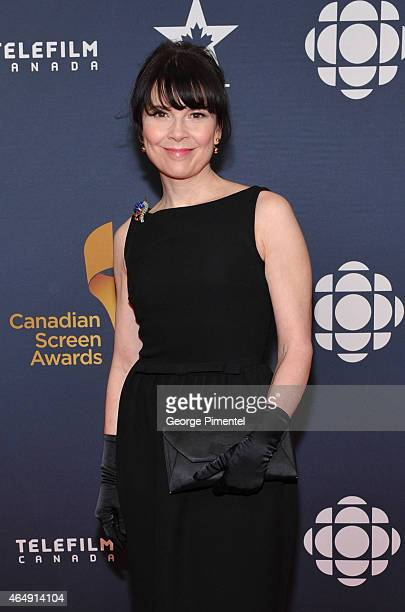 Actress Anne Dorval arrives at the 2015 Canadian Screen Awards at the Four Seasons Centre for the Performing Arts on March 1 2015 in Toronto Canada