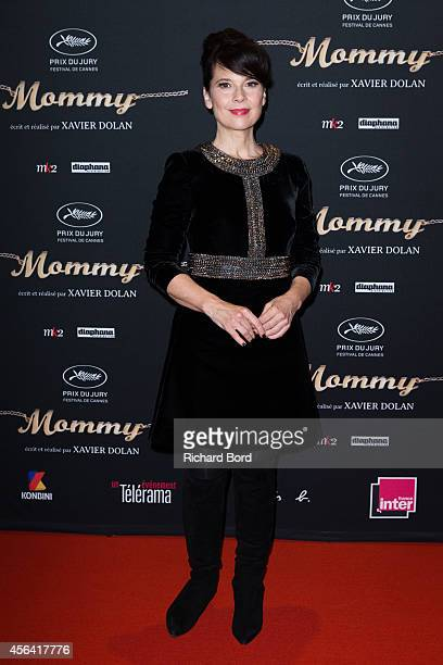 Actress Anne Dorval attends the 'Mommy' Paris premiere at MK2 Bibliotheque on September 30 2014 in Paris France