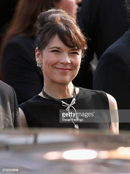 Actress Anne Dorval attends the opening ceremony and premiere of 'La Tete Haute' during the 68th annual Cannes Film Festival on May 13 2015 in Cannes...