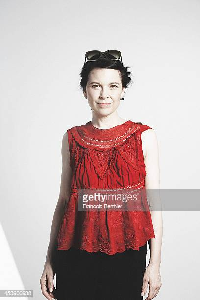 Actress Anne Dorval is photographed for Self Assignment on May 23 2014 in Paris France