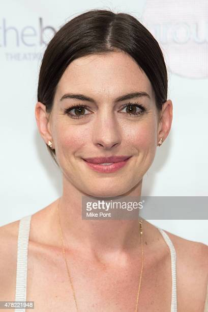 Actress Anne Hathaway attends 'An Actor's Companion' book release at The Barrow Group on June 23 2015 in New York City