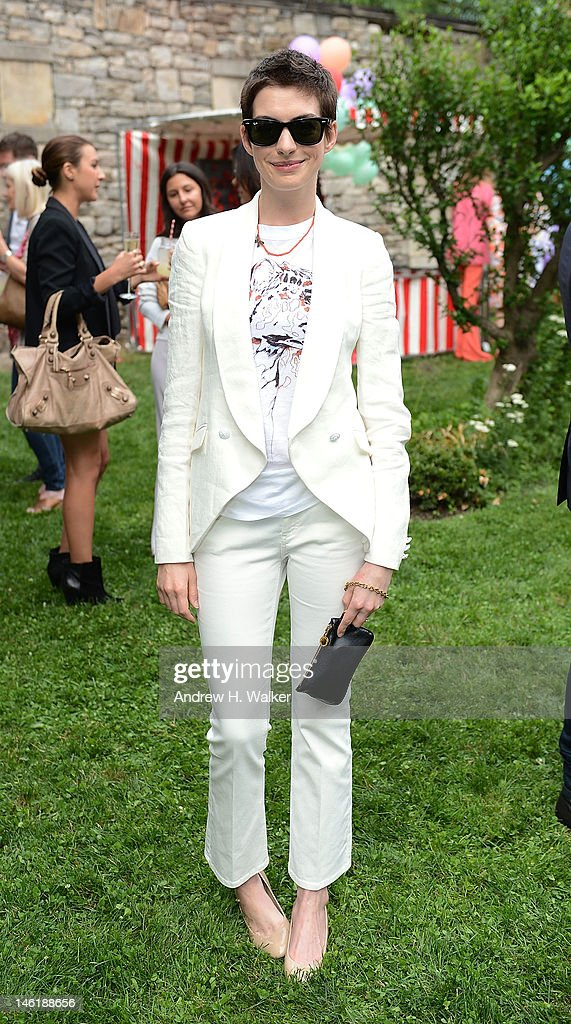 Actress Anne Hathaway attends the Stella McCartney Resort 2013 Presentation on June 11 2012 in New York City