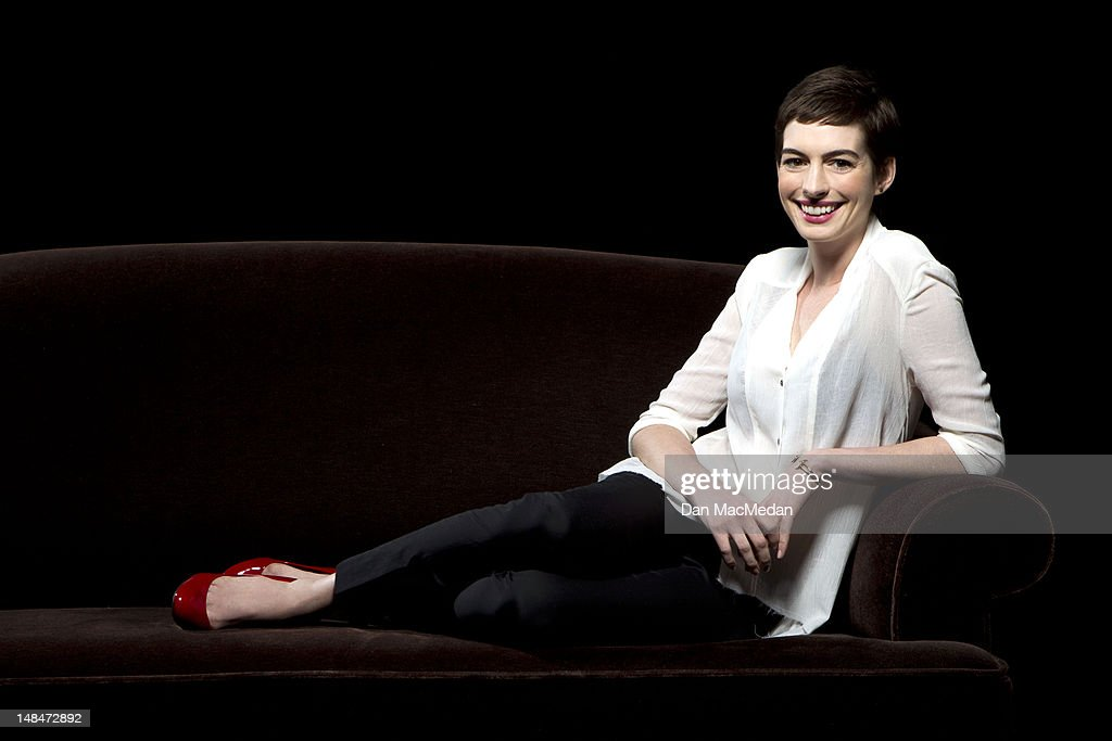 Actress <a gi-track='captionPersonalityLinkClicked' href=/galleries/search?phrase=Anne+Hathaway+-+Actress&family=editorial&specificpeople=11647173 ng-click='$event.stopPropagation()'>Anne Hathaway</a> is photographed for USA Today on July 16, 2012 in Los Angeles, California.