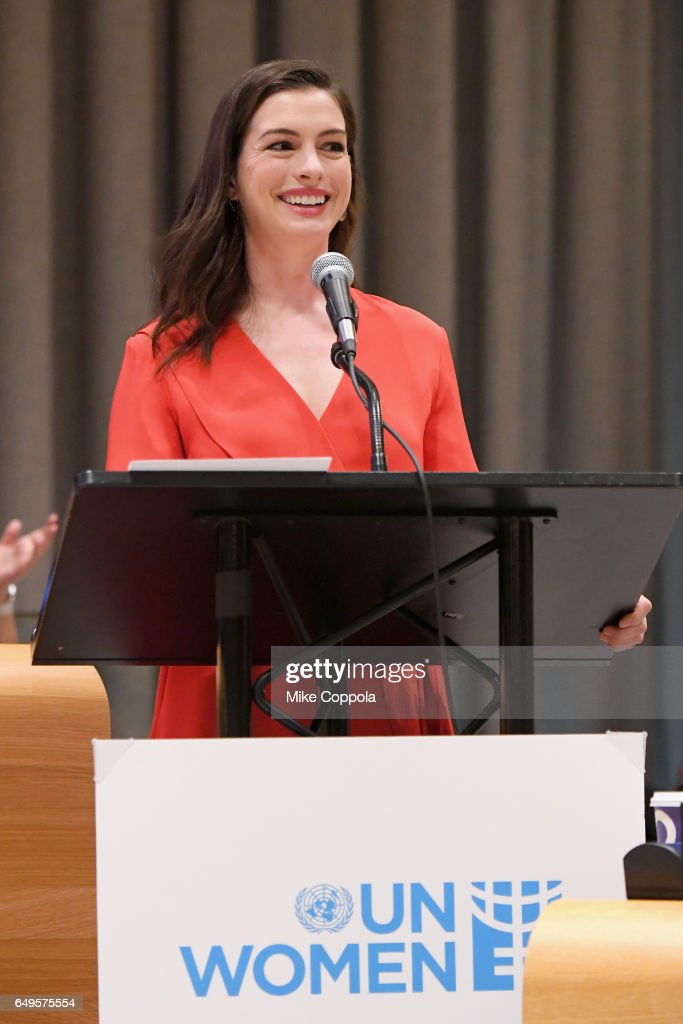 U.S. actress Anne Hathaway named as goodwill ambassador to promote ...
