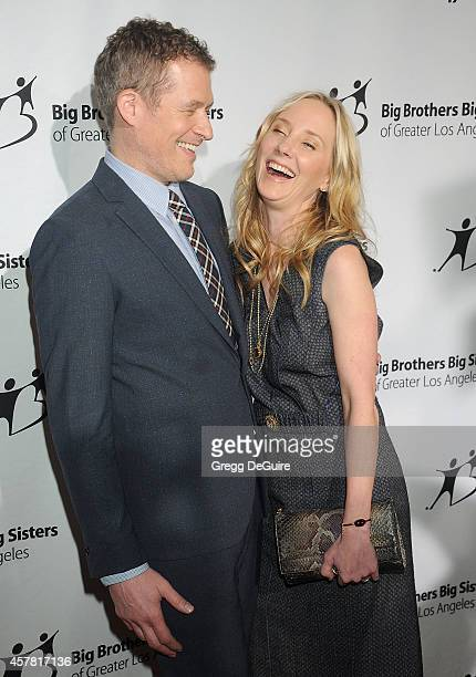 Actress Anne Heche and James Tupper arrive at the Big Brothers Big Sisters Big Bash at The Beverly Hilton Hotel on October 24 2014 in Beverly Hills...