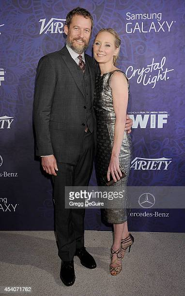 Actress Anne Heche and James Tupper arrive at the Variety And Women In Film Annual PreEmmy Celebration at Gracias Madre on August 23 2014 in West...