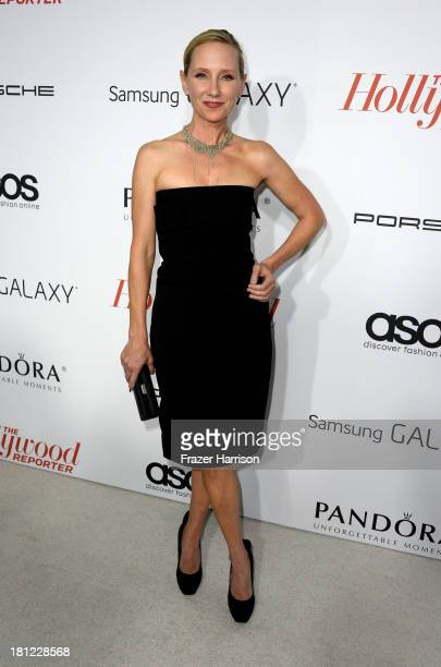 Actress Anne Heche arrives at The Hollywood Reporter's Emmy Party at Soho House on September 19 2013 in West Hollywood California