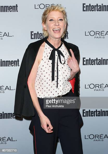 Actress Anne Heche attends Entertainment Weekly's 2016 PreEmmy party at Nightingale Plaza on September 16 2016 in Los Angeles California