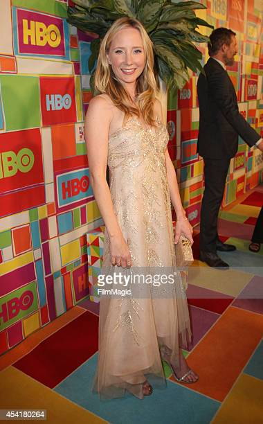Actress Anne Heche attends HBO's Official 2014 Emmy After Party at The Plaza at the Pacific Design Center on August 25 2014 in Los Angeles California