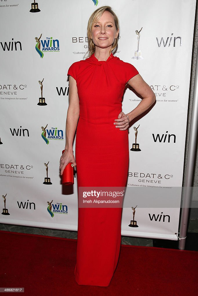 Actress Anne Heche attends the 2013 Women's Image Awards at Santa Monica Bay Womans Club on December 11, 2013 in Santa Monica, California.