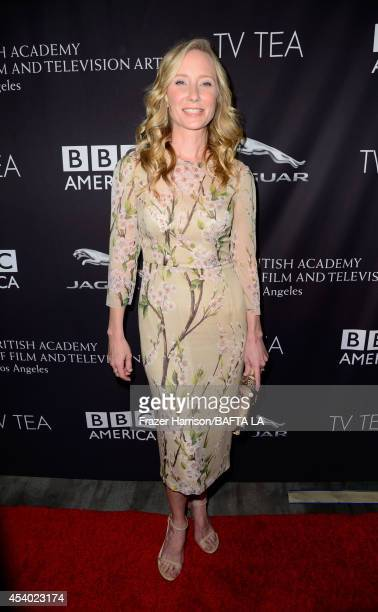 Actress Anne Heche attends the 2014 BAFTA Los Angeles TV Tea presented by BBC America And Jaguar at SLS Hotel on August 23 2014 in Beverly Hills...