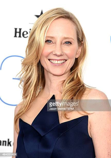 Actress Anne Heche attends the 2015 Film Independent Spirit Awards at Santa Monica Beach on February 21 2015 in Santa Monica California