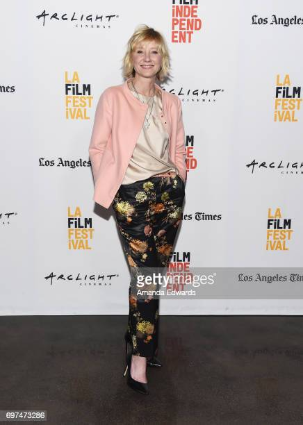 Actress Anne Heche attends the 2017 Los Angeles Film Festival 'My Friend Dahmer' premiere at the ArcLight Santa Monica on June 18 2017 in Santa...