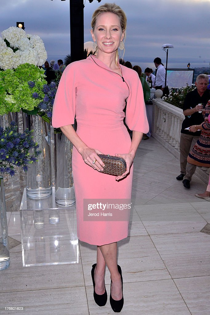 Actress Anne Heche attends the 6th annual Oceana's SeaChange summer party on August 18, 2013 in Laguna Beach, California.