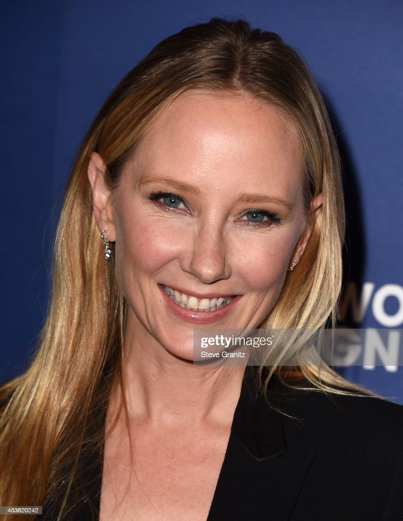 Actress <a gi-track='captionPersonalityLinkClicked' href=/galleries/search?phrase=Anne+Heche&family=editorial&specificpeople=202988 ng-click='$event.stopPropagation()'>Anne Heche</a> attends The Hollywood Foreign Press Association Installation Dinner at The Beverly Hilton Hotel on August 14, 2014 in Beverly Hills, California.