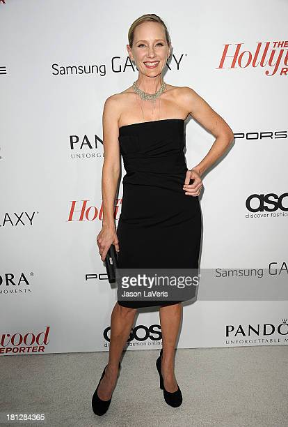 Actress Anne Heche attends the Hollywood Reporter's celebration of the Emmys at Soho House on September 19 2013 in West Hollywood California