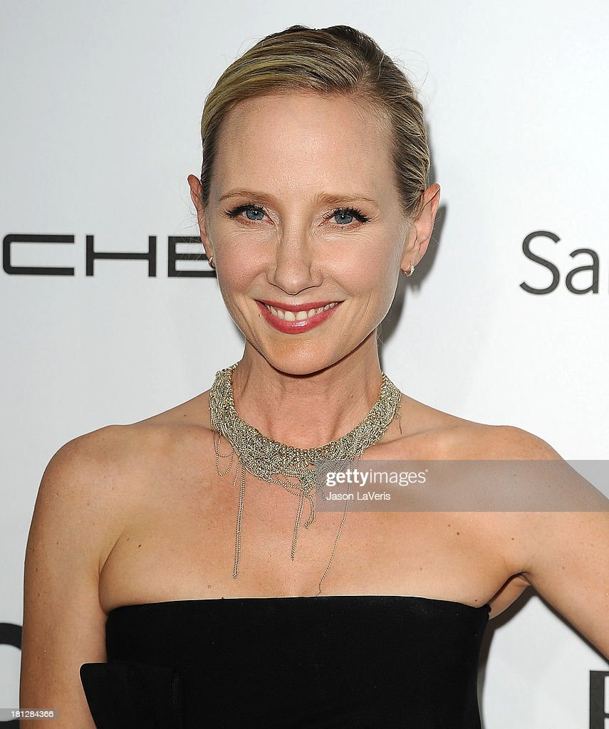Actress <a gi-track='captionPersonalityLinkClicked' href=/galleries/search?phrase=Anne+Heche&family=editorial&specificpeople=202988 ng-click='$event.stopPropagation()'>Anne Heche</a> attends the Hollywood Reporter's celebration of the Emmys at Soho House on September 19, 2013 in West Hollywood, California.