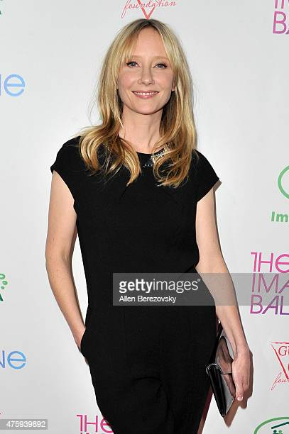 Actress Anne Heche attends The Imagine Ball Benefiting Imagine LA at House of Blues Sunset Strip on June 4 2015 in West Hollywood California