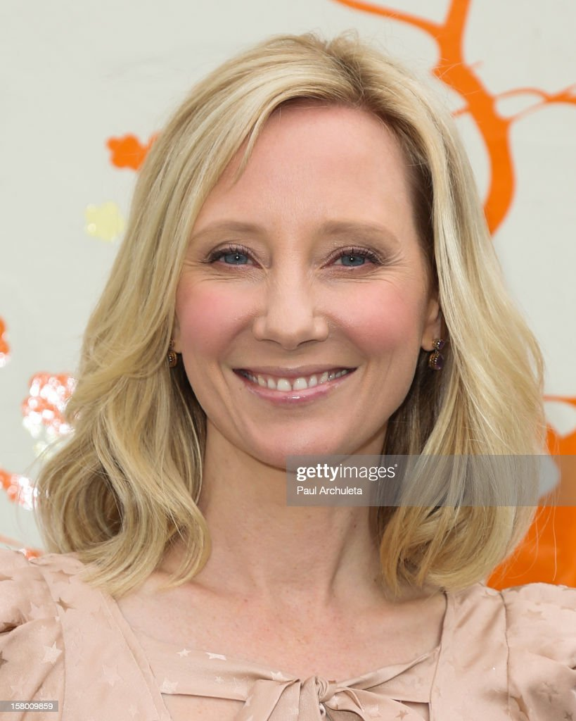 Actress Anne Heche attends the launch of her 'Tickle Time Sunblock' at The COOP on December 8, 2012 in Studio City, California.