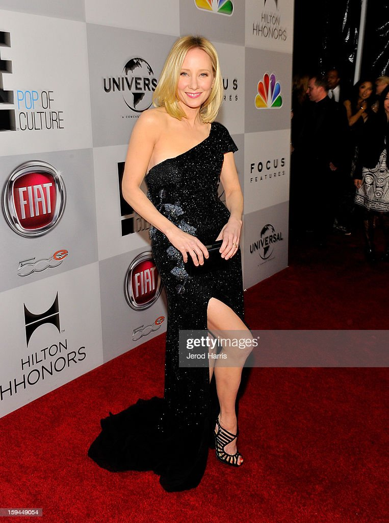 Actress Anne Heche attends the NBCUniversal Golden Globes viewing and after party held at The Beverly Hilton Hotel on January 13, 2013 in Beverly Hills, California.
