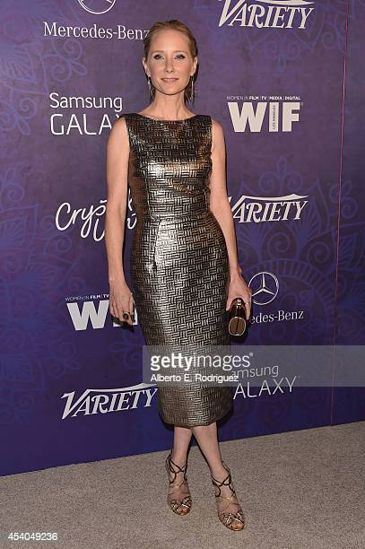 Actress Anne Heche attends Variety and Women in Film Emmy Nominee Celebration powered by Samsung Galaxy on August 23 2014 in West Hollywood California