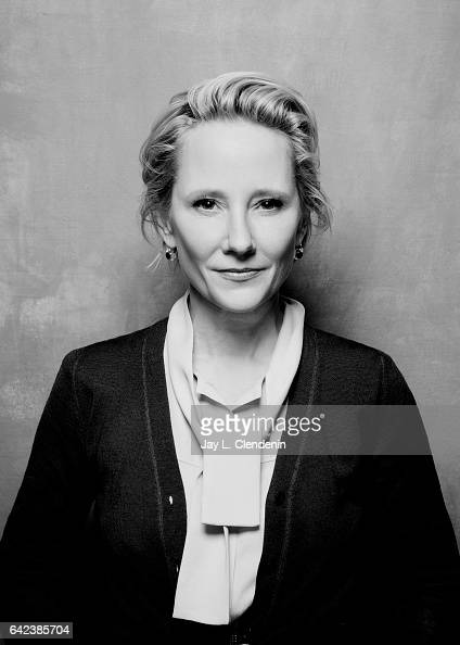 Actress Anne Heche from the film The Last Word is photographed at the 2017 Sundance Film Festival for Los Angeles Times on January 23 2017 in Park...