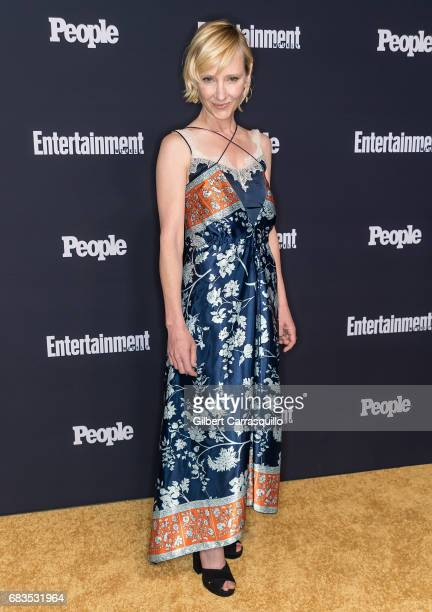 Actress Anne Heche of For God And Country attends the Entertainment Weekly People New York Upfronts at 849 6th Ave on May 15 2017 in New York City