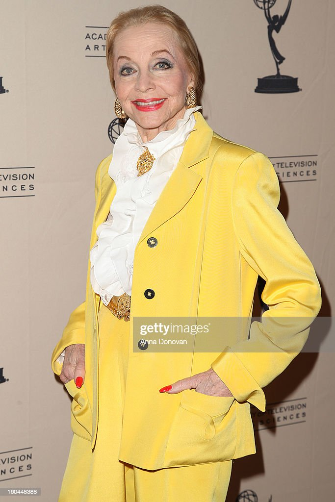 Actress Anne Jeffreys attends 'Retire From Showbiz:? No Thanks!' at the Academy of Television Arts & Sciences Conference Centre on January 31, 2013 in North Hollywood, California.