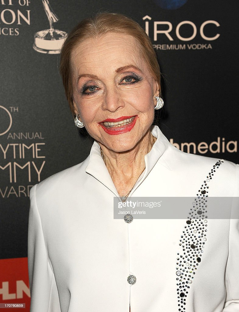 Actress Anne Jeffreys attends the 40th annual Daytime Emmy Awards at The Beverly Hilton Hotel on June 16, 2013 in Beverly Hills, California.