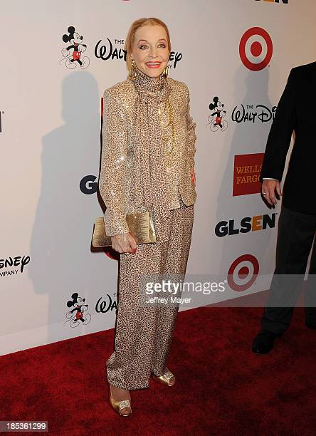 Actress Anne Jeffreys attends the 9th Annual GLSEN Respect Awards held at the Beverly Hills Hotel on October 18 2013 in Beverly Hills California