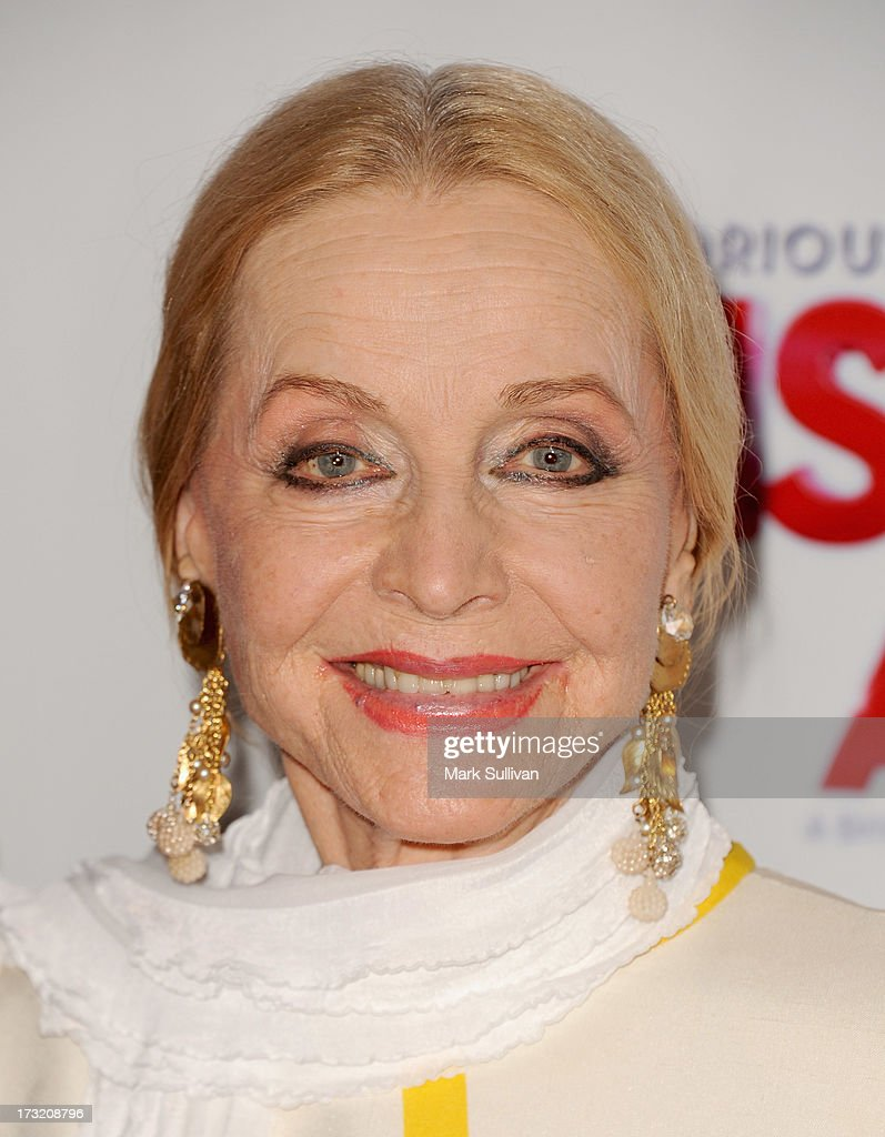 Actress <a gi-track='captionPersonalityLinkClicked' href=/galleries/search?phrase=Anne+Jeffreys&family=editorial&specificpeople=209053 ng-click='$event.stopPropagation()'>Anne Jeffreys</a> attends the premiere of 'Sister Act' at the Pantages Theatre on July 9, 2013 in Hollywood, California.