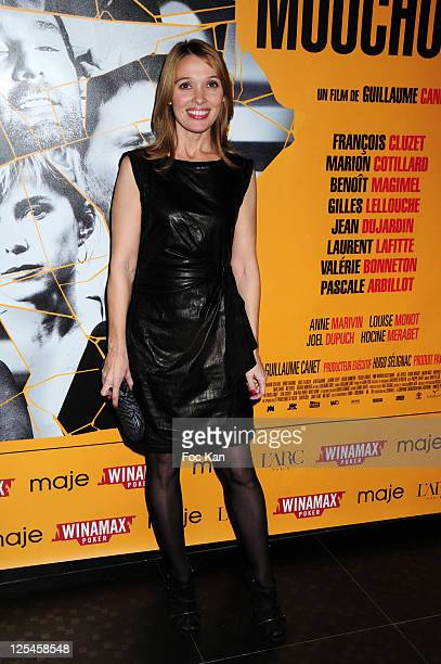 Actress Anne Marivin attends 'Les Petits Mouchoirs' Premiere After Party at L'Arc Club on October 14 2010 in Paris France