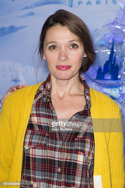 Actress Anne Marivin attends the 'Christmas season' launch at Disneyland Paris on November 9 2013 in Paris France