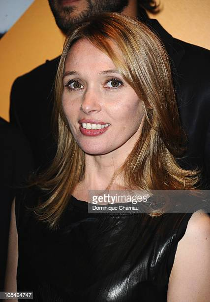 Actress Anne Marivin attends the 'Les Petits Mouchoirs' Paris Premiere at Cinema UGC Normandie on October 14 2010 in Paris France