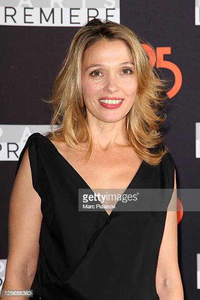 Actress Anne Marivin attends the Paris Premiere 25th Anniversary Celebration at Grand Palais on September 20 2011 in Paris France