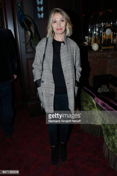 Actress Anne Marivin attends the Reopening of the Hotel Barriere Le Fouquet's Paris decorated by Jacques Garcia at Hotel Barriere Le Fouquet's Paris...