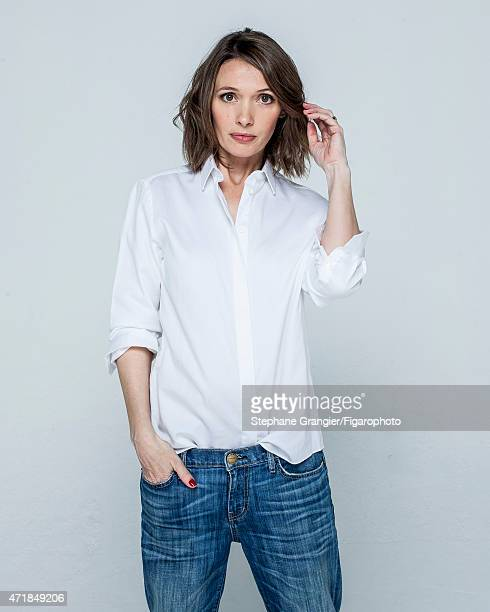Actress Anne Marivin is photographed for Madame Figaro on March 26 2015 in Paris France Shirt jeans PUBLISHED IMAGE CREDIT MUST READ Stephane...