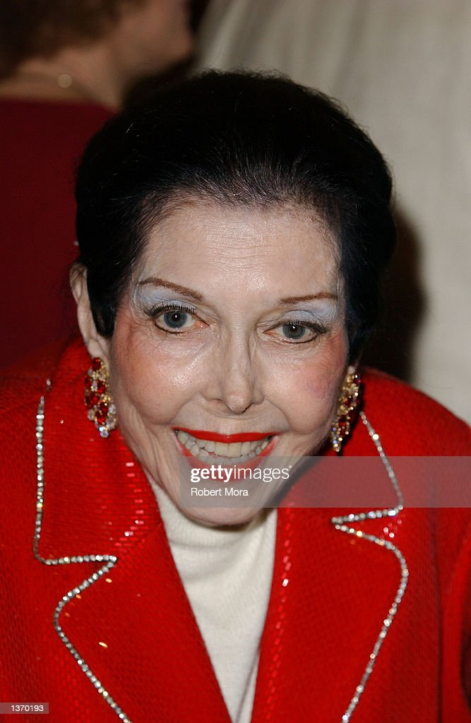 Actress Anne Miller attends the 50th Anniversary screening of 'Singin' in the Rain' at the Academy of Motion Picture Arts and Sciences on September 5, 2002 in Beverly Hills, California.