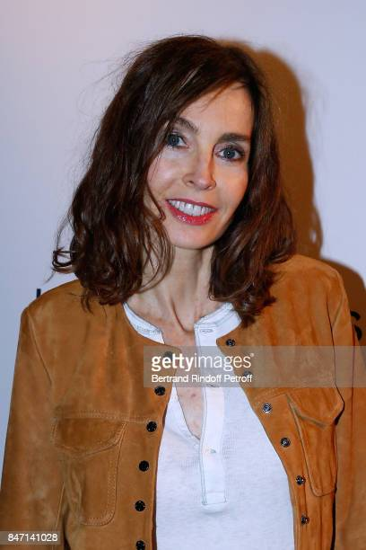 Actress Anne Parillaud attends the Reopening of the Hotel Barriere Le Fouquet's Paris decorated by Jacques Garcia at Hotel Barriere Le Fouquet's...