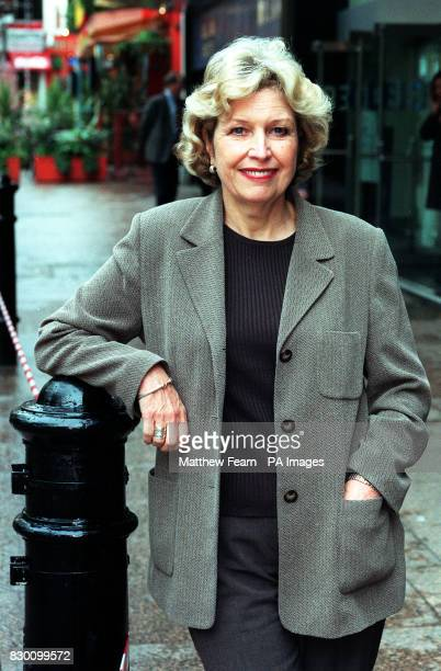 Actress Anne Reid who will appear in 'Dinnerladies' comedienne Victoria Wood's firstever sitcom