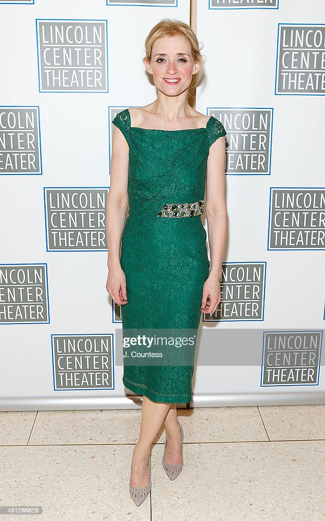 Actress Anne-Marie Duff attends the afterparty for the opening night of 'Shakespeare's Macbeth' at Avery Fisher Hall, Lincoln Center on November 21, 2013 in New York City.